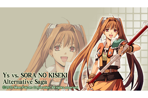 Estelle Bright | Ys vs. Sora no Kiseki: Alternative Saga ...