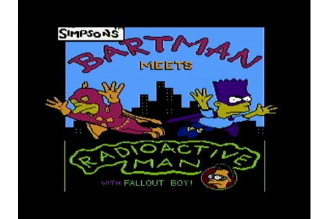 The Simpsons: Bartman Meets Radioactive Man - NES Gameplay ...