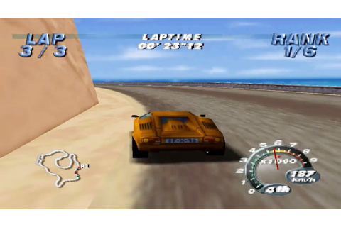 Automobili Lamborghini (Nintendo 64 Gameplay) - YouTube