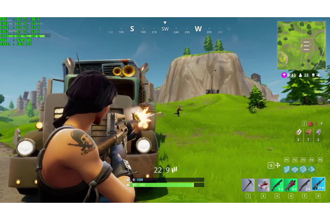 FORTNITE Gameplay EPIC SETTINGS on GTX 1070 - YouTube