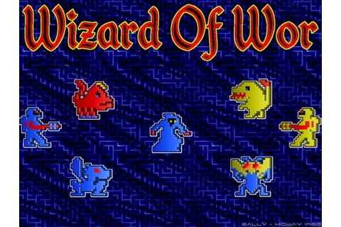 Wizard Of Wor - Classic Arcade Games & Video Games ...