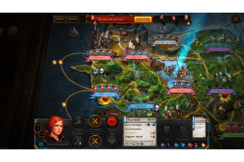 The Witcher Adventure Game is out now as board game and ...