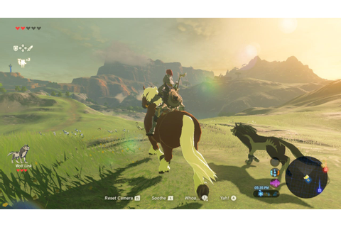 How to get Epona and Wolf Link in 'Legend of Zelda: Breath ...