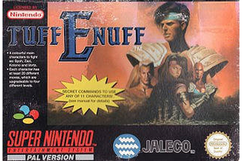 Fighting Spirit : Tuff E Nuff sur SNES - 0 - images ...