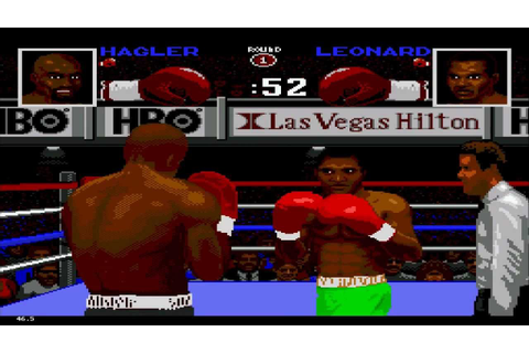 Boxing Legends Of The Ring (MEGA DRIVE) HD - YouTube