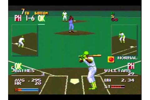 Sports Talk Baseball - World Series, Game 4, Part 2 - Sega ...