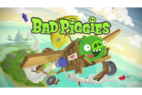 Bad Piggies official gameplay trailer - YouTube
