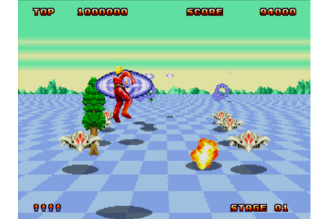 Sega Adds Space Harrier II Game To Play Store In Its Sega ...