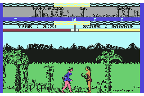 Legend Of The Amazon Women (1986) by SilverTime C64 game