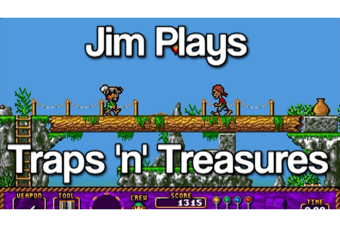 Traps 'n' Treasures, Amiga - Overlooked Oldies - YouTube