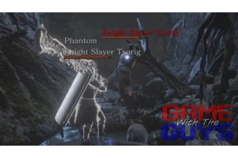 Dark Souls 3 - Fun with Phantom Knight Slayer Tsorig - YouTube