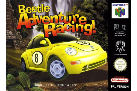 Beetle Adventure Racing! (N64 / Nintendo 64) News, Reviews ...