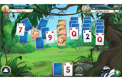 Fairway Solitaire review - All About Windows Phone