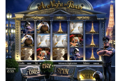 Slot Reviews - A Night in Paris - Casino in Switzerland