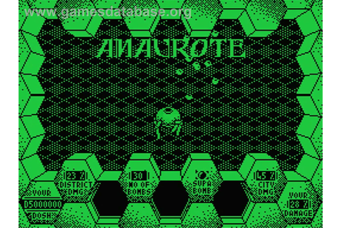 Amaurote - MSX - Games Database
