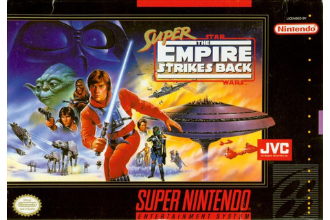 Super Star Wars: The Empire Strikes Back for SNES (1993 ...