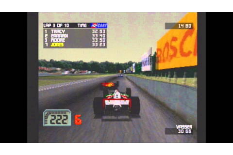Classic Racing Games: CART World Series Michigan PS1 - YouTube