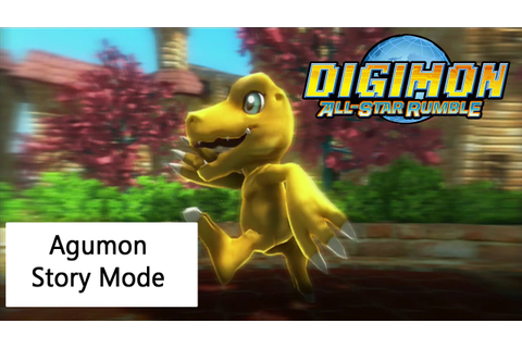 Digimon All-Star Rumble Agumon Story - YouTube