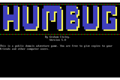 Download Humbug - My Abandonware
