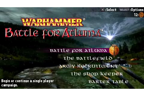 Warhammer - Battle for Atluma (USA) ISO