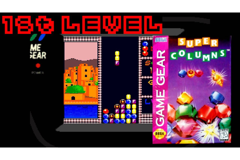Super Columns (1995, Game Gear) - 1st Level - YouTube