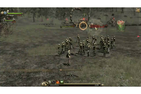 Kingdom Under Fire II in-game footage #2 (PC, Xbox 360 ...