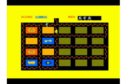 Oh Mummy! - Amstrad CPC 464 - YouTube