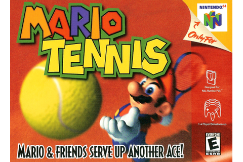 Mario Tennis Nintendo 64 Game
