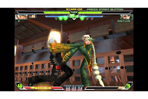 King of Fighters Maximum Impact Regulation A Gameplay ...