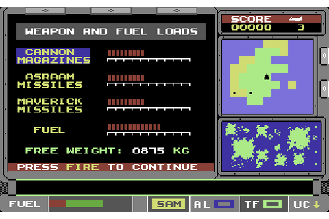 ATF: Advanced Tactical Fighter (1988) by Digital ...