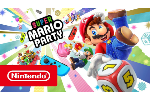Super Mario Party - Trailer de lançamento (Nintendo Switch ...