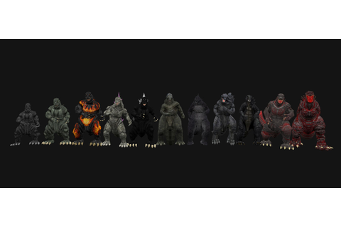 Godzilla Generations by kingkong19100 on DeviantArt