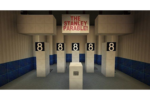 The Stanley Parable Eight Game in Minecraft! Minecraft Project