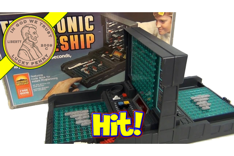 Electronic Battleship, 1982 Milton Bradley Game - YouTube