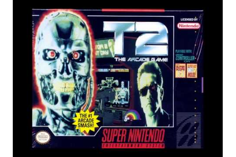 T2: the arcade game [Music] - Battlefield (Stage 1) - SNES ...
