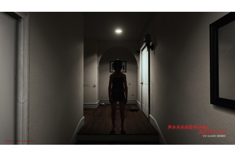 Try out the 'Paranormal Activity' VR game at some AMC theaters