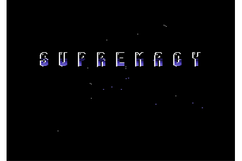 Game: Supremacy: Your Will Be Done [Commodore 64, 1991 ...