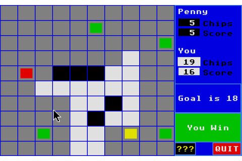 Centerfold Squares (1988) by Artworx Software Atari ST game