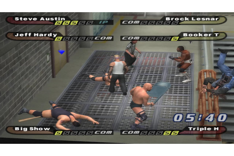 WWE Smackdown Shut Your Mouth (PCSX2) - Hardcore Time ...