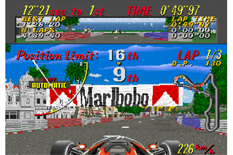 Super Monaco GP (World) (En,Ja) (MPR-13215) ROM Download