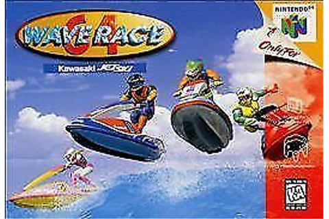Wave Race Nintendo 64 N64 OEM Video Game Jet Ski Wave ...