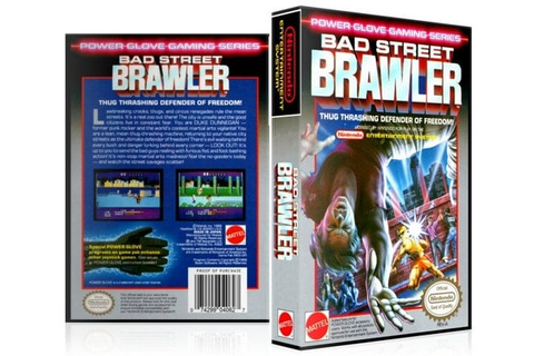 NES Bad Street Brawler Collector's Game Case by ...