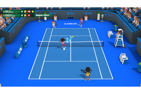 Save 34% on Super Tennis Blast on Steam