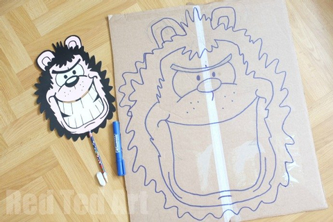 Dennis & Gnasher DIY Party Game | Party Delights Blog