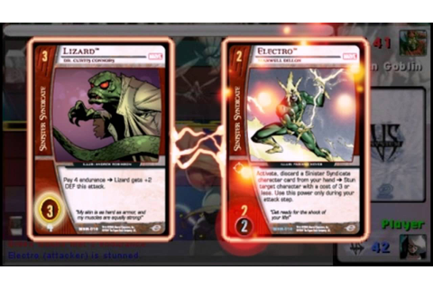 Marvel Trading Card Game PC 2007 Gameplay - YouTube