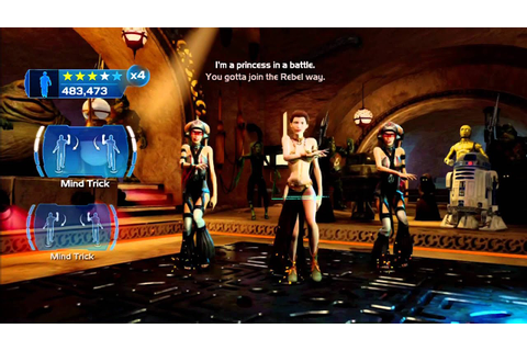 Kinect Star Wars: Galactic Dance Off - Princess in a ...