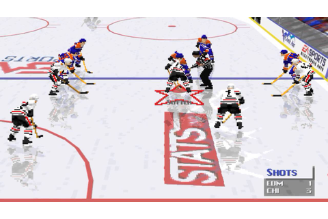 NHL 96 PC gameplay - YouTube