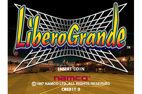 Libero Grande arcade video game by NAMCO (1997)