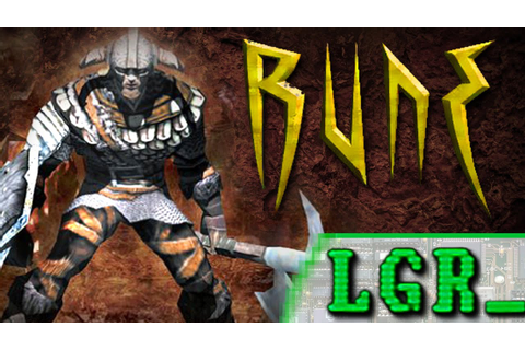 LGR - Rune - PC Game Review - YouTube