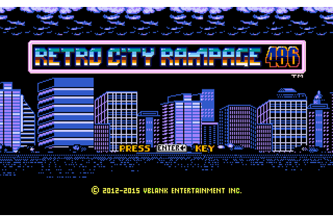 Nerdly Pleasures: Retro City Rampage 486 - A Review of a ...